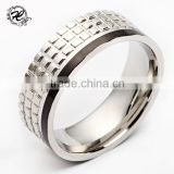 High quality Cheap fashion design wholesale men spikes stainless steel ring                                                                         Quality Choice