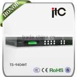 ITC TS-9404HT Auto Input Resolution Identification Support 4K HDbaseT HDMI Matrix Switch 4x4                                                                         Quality Choice