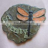 Polyresin Dragonfly Garden Stepping Decoration Craft