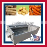 High quality horseradish cleaning machine/ horseradish washing machine/ root vegetable cleaning machine