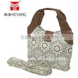 gently tote diaper changing organic cotton bag for baby