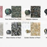 previous Tile for wall and floor decor Shell Mosaic Mother of Pearl Interior Wall Decoration Material for swimming