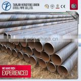 building materials directly sale spiral welded round steel pipe price list from china factory