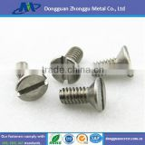 wholesale Slotted Flat head electronic screw/countersunk head screw/stainless steel screw