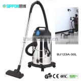 Household Appliance useful low cost and powerful wet and dry Vacuum Cleaner with external socket