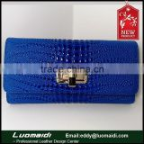 hot new products for 2015 lady clutch fashion leather wallet