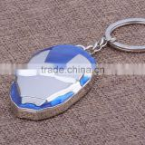 Hot Zinc Alloy Keychain Jewelry Anime Spot Hit The Avengers Alliance Iron Man Keyring For Teenagers