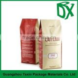 Bulk buy from China online shopping best quality biodegradable empty side gusset foil coffee bags with valve