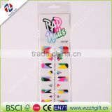 Fashion Colorful Nail Art Water Transfer Sticker Nail Art Tips Wraps DIY Nail Beauty Accessories