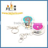 JL-001Y Yiwu Jiju China Wholesale Metal Pill Box Keychain Decorative Pill Case