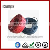 UL TUV solar cable 10mm 6mm 4mm2 dc solar cable