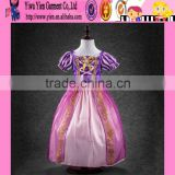 fashion alibaba golden supplier original selling Princess dress long style baby girl cinderella dress cosplay costume