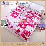 Manufactory alibaba china home textile custom warm flannel fleece blanket stocks 2ply or 1ply organic tv blanket