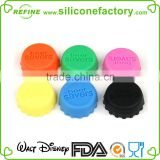 Set of 6 multi-Functional Silicone Beer Saver Bottle Cap Bottle Stopper
