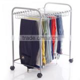 Multifunctional anti skid dry cleaner wire hanger