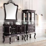 Popular Design American Style Solid Wood Home Furniture Single Sink Bathroom VanityWTS244