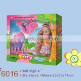 Doll factory plastic girl toy child real doll children dolls