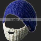 Funny Beard Knitted Beanies Hat Cap Factory in China
