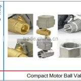 Drain Control Water Motorized Ball Valve with Timer, Automatic Open and Close