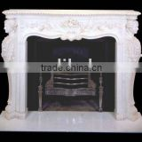 marble fireplace accessory of mantel BL486