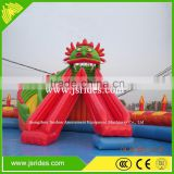 Large Water Slide Outdoor Inflatable Water Park For Adults