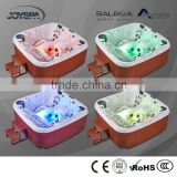 5Person Outdoor Acrylic Plastic Portable Jet Whirlpool Bathtub with TV for Adult JY8017