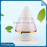 Walmart hot selling 200mL nebulizer Ultrasonic Humidifier Aromatherapy Diffuser Spa Cool Mist Pet Bottle home atomizer Led Lamp