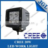 "4"" Powerful 20W LED Work Light flood beam led driving light stainless steel bracket"