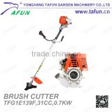 4 stroke 31cc gasoline brush grass cutter for sale