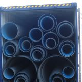 DN200mm to DN3200mm HDPE double wall corrugated pipe