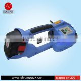 XN-200 electric strapping machine for melting pet plastic