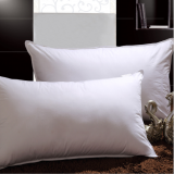 cotton pillow with piping polyester filling