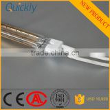 quartz twin tubes infrared heating lamp infrared heater rod
