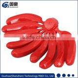 Decorative Artificial Fruit Resin Red Banana Fruit Export