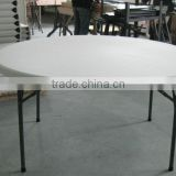 plastic banquet folding round table
