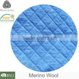 Cheaper price merino wool jacquard brocade fabric price customized jacquard knitting fabric