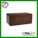 Multifunction cheap usd clock with mobile chargine
