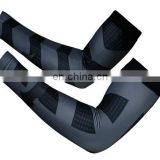 wholesale cycling wear arm sleeves - High Elastic Gym Sports Long Arm Sleeve Support Basketball