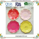 20-Pack Amazon Hot Birthday Party Supplies Eco Friendly Colorful Paper Plate