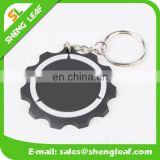 cute custom design 3d rubber soft pvc keychain