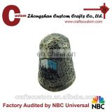 Custom 3D zinc alloy small metal craft bells/promoion souvenir