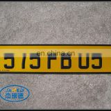 Promotional Metal Brand Car Number License Plate for Sales