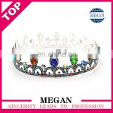 High Quality Rhinestone Crowns Tiara Wedding Crown Promotion