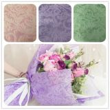 2018 New embossed flower wrapping & gift packing fabric 100% PP spunbond Polypropylene