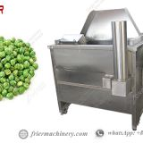 200KG/H Fully Automatic Continuous Fryers Machine for Green Peas Costs