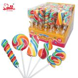 Rainbow Handmade Hard Candy Lollipop