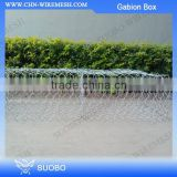 China Hot Sale Pvc Cover Gabion Boxes, Hanger Wire Torsion Spring Ac-50 Gabion Box, 1 Gabion Box For Retaining Wall