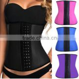 2016 hotsale adjustable waist trainer corset for sport weigh lose