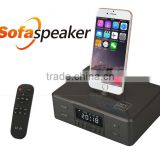 Remote Controller Alarm Clock Sofa Speaker Bluetooth Sofa Speaker For Iphone /Android Phone