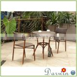 Best Selling Rattan Wicker Wooden Dining Tables And Chairs Cheap Pool Furniture